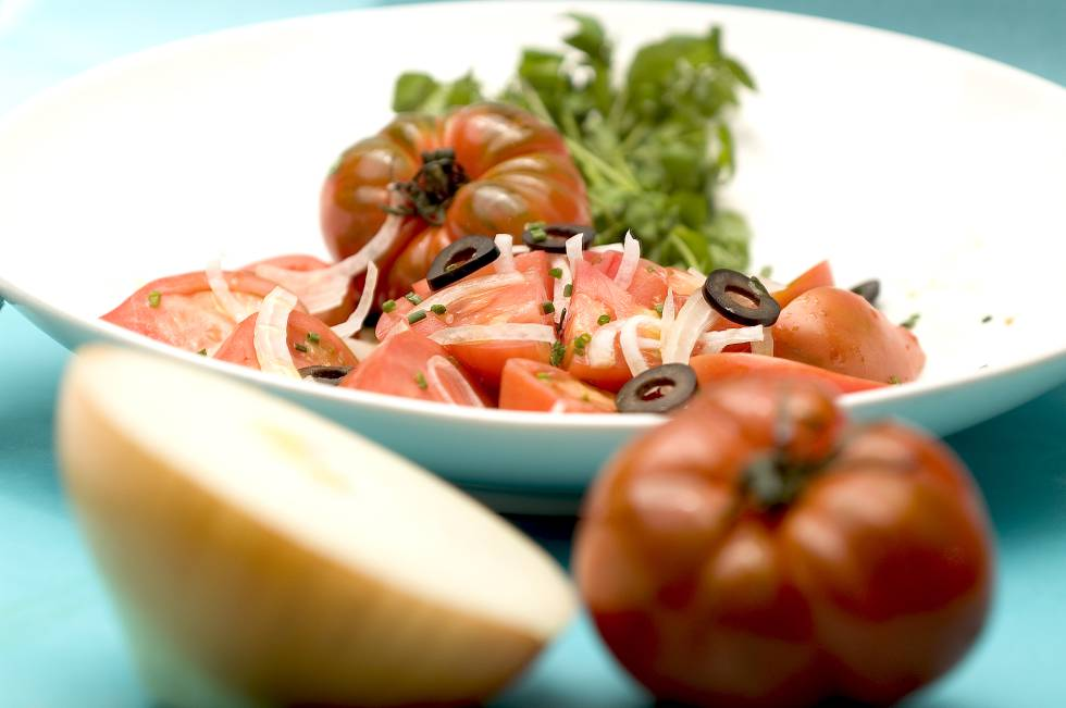 A tomato salad, like this one, has caused quite a stir for British blogger Gabbie Jarvis.