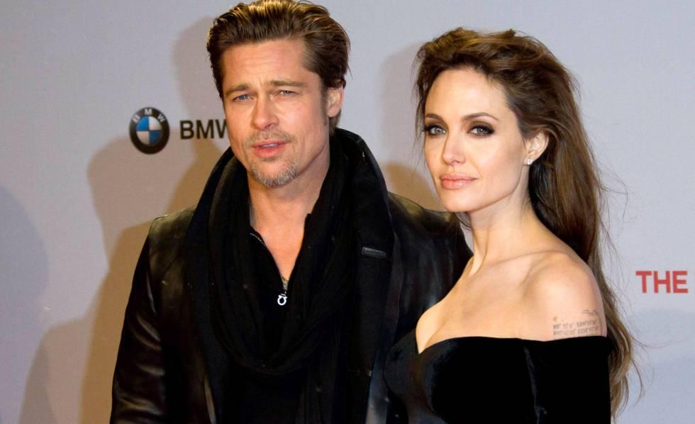 Brad Pitt y Angelina Jolie, en diciembre de 2010.