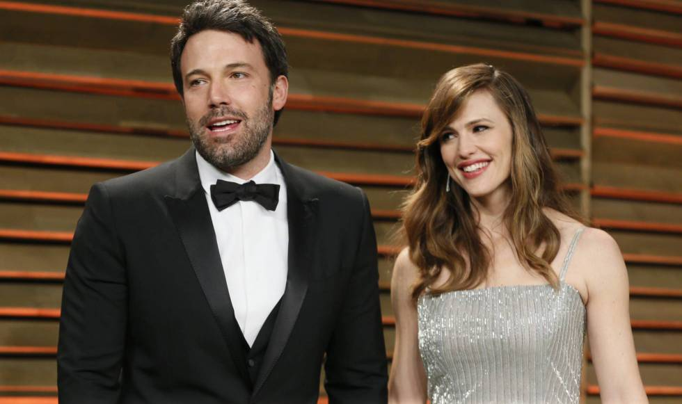 Los actores Ben Affleck y Jennifer Garner, en marzo de 2014.