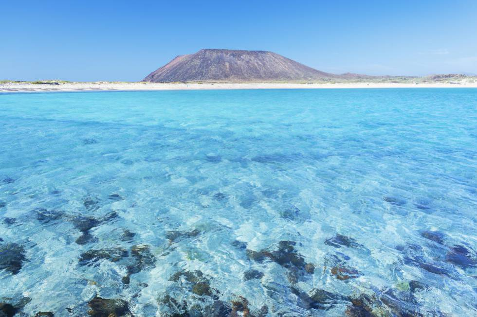 Lobos Island, off Fuerteventura, in the Canaries.