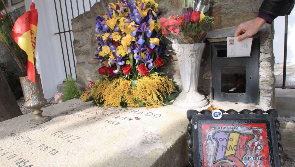 A día de hoy, Antonio Machado sigue recibiendo cartas en su tumba en Collioure.