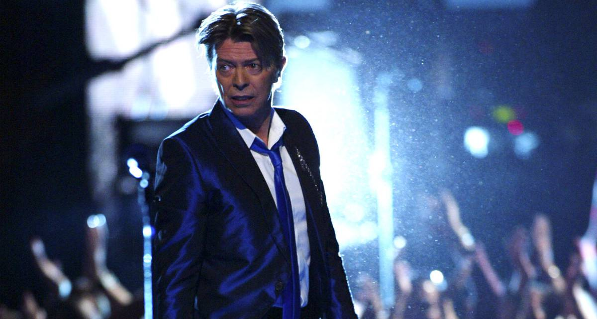 David Bowie, en el Radio City Music Hall en Nueva York en 2002.