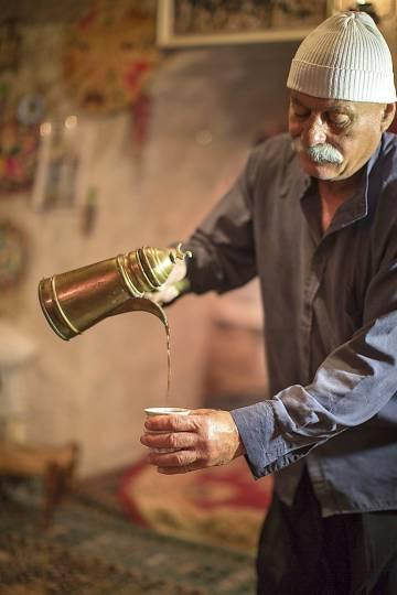 Los tés y los zumos árabes son la mejor opción para combatir el calor. rn