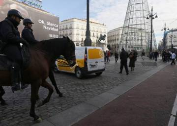 Madrid bans large vehicles from center over fears of a terrorist attack