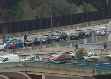 Greater police presence fails to prevent further Madrid traffic chaos