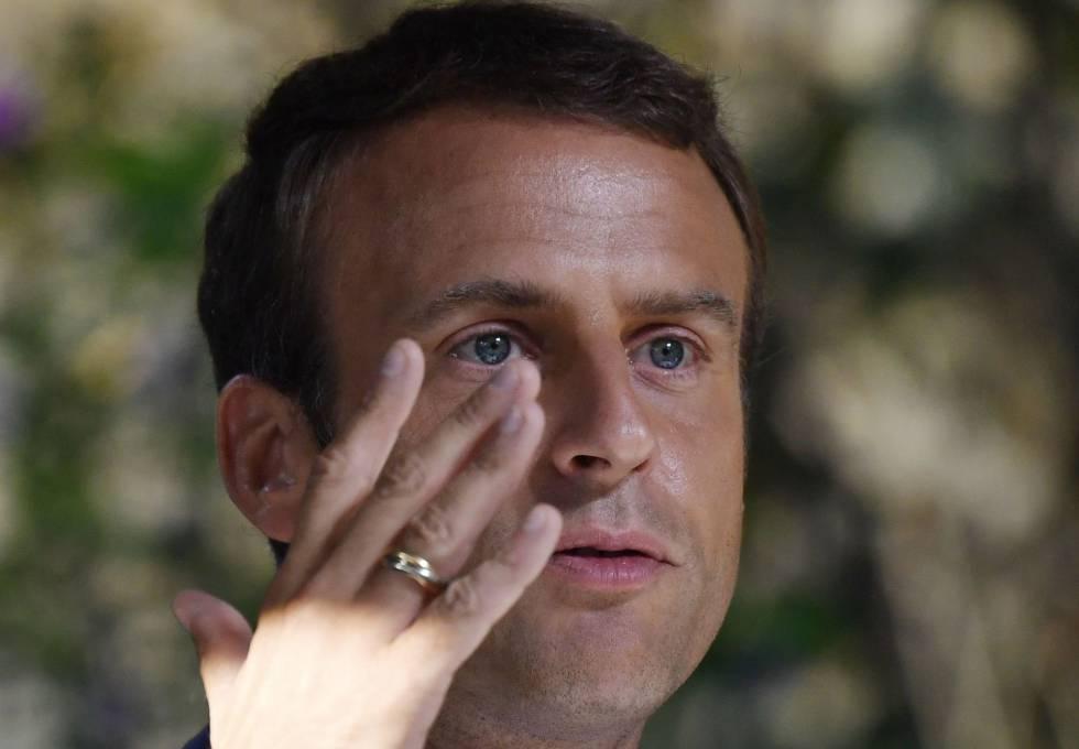 d8dab8498f Conta de 96.000 reais em maquiagem de Macron enrubesce os franceses ...