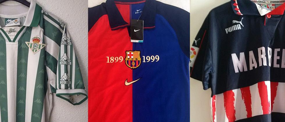 Camisetas de fútbol míticas  la Liga (I)  62edb69a688c2