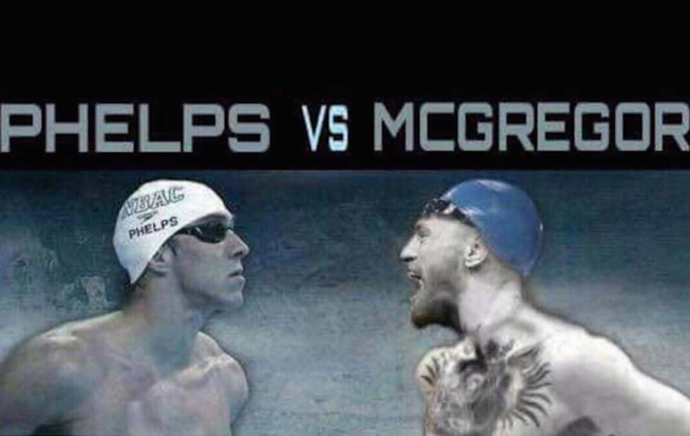 Michale Phelps Conor McGregor