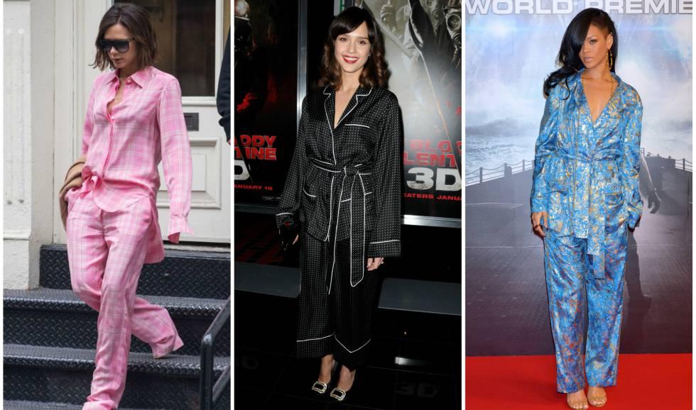 8f64b5abf Fotos  El estilo pijama se impone entre los famosos