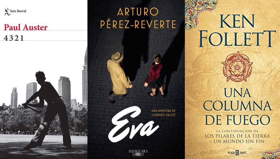 Las 15 grandes novelas de otoño, según Babelia