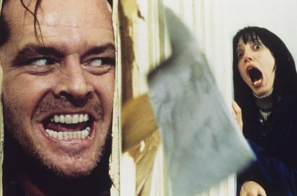 Jack Nicholson y Shelley Duvall protagonizaron la mítica escena de la película 'El resplandor' (1980).