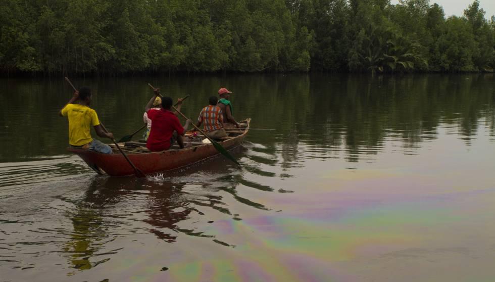 El desastre medioambiental en el Delta del Níger es evidente.