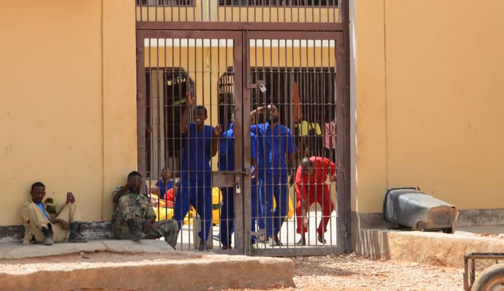 En la prisión de Garoowe (Somalia) hay 47 piratas encarcelados.