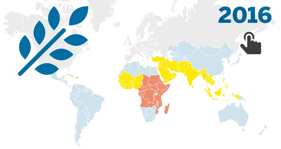 GRÁFICO: Varias agencias de Naciones Unidas analizan la alimentación en el mundo