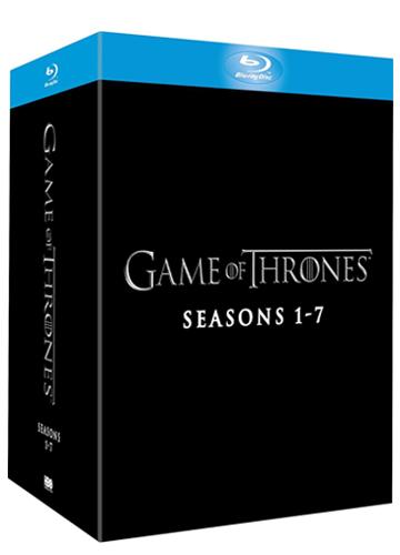 Todas las temporadas (1 a 7) disponibles en Blu-ray o DVD, con audio en castellano o inglés. Lanzamiento: 12 de diciembre de 2017.
