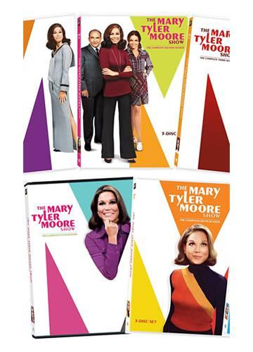 Todas las temporadas de 'La chica de la tele' disponibles en inglés en formato DVD.