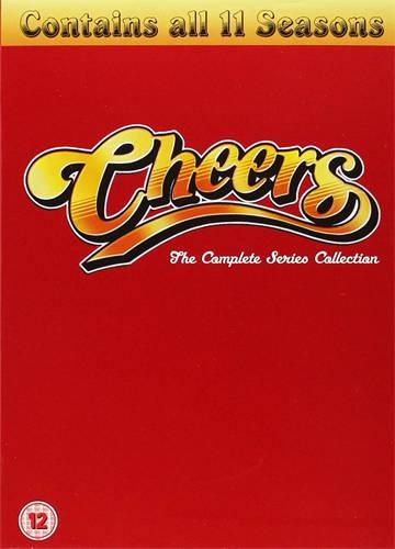 43 discos en formato DVD en inglés con todos los episodios de 'Cheers'.