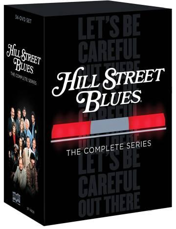 La serie de 'Canción triste de Hill Street' en inglés en 34 DVDs.