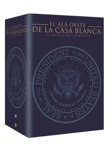 Los 156 episodios de 'El ala oeste de la Casa Blanca' disponibles en castellano en formato DVD.