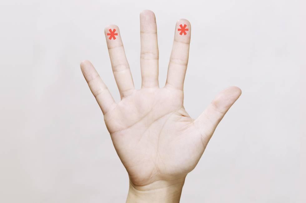 Todo lo que el tamaño de estos dos dedos dice de usted | BuenaVida ...