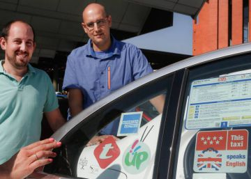 Madrid taxi drivers on the road to becoming English speakers