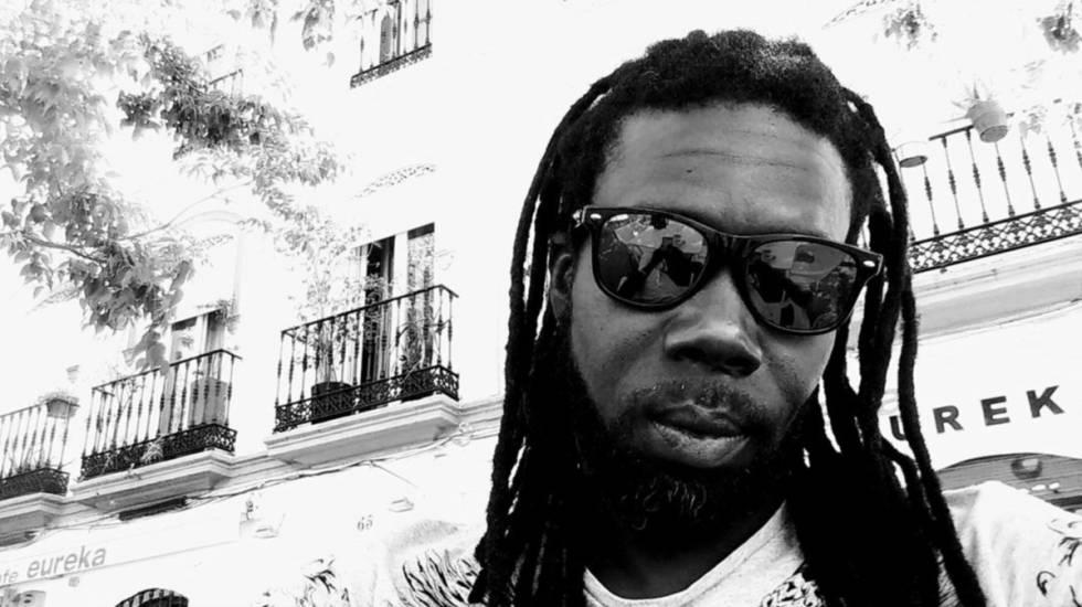 Moustapha Kamara, organizador del festival Galgui Roots y vocalista de Mama Africa Revolution.