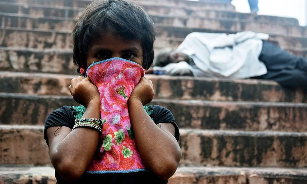 En India hay más de diez millones de niños viviendo en las calles.