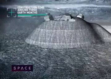 La Agencia Espacial Europea quiere construir una base permanente en la Luna