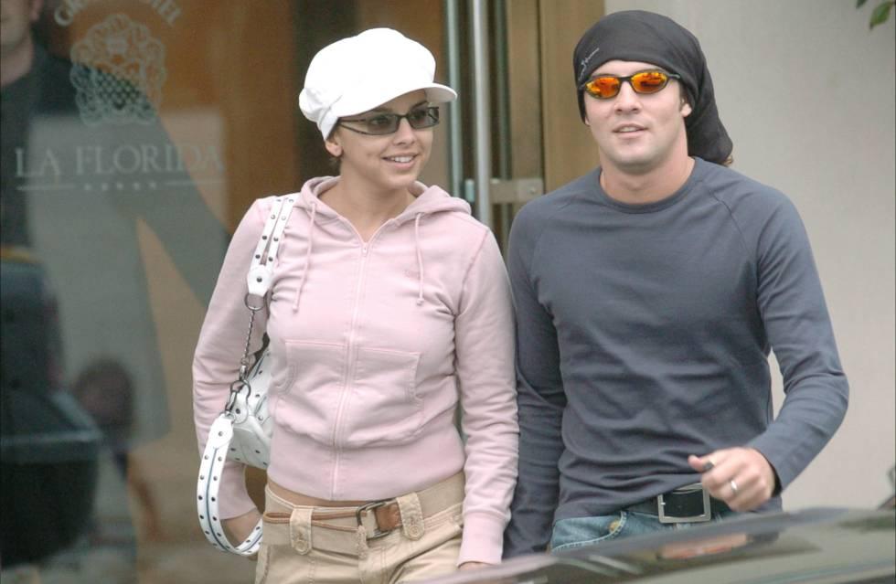 Chenoa y David Bisbal en 2004.