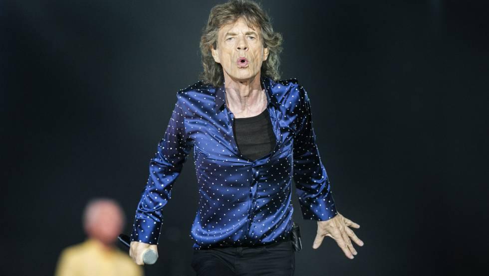 Concierto de Rolling Stones en el Estadi Olimpic de Barcelona.
