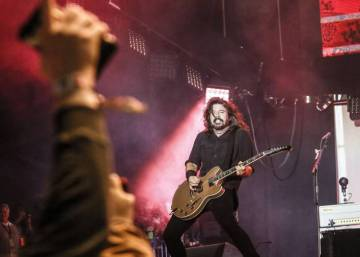 The Foo Fighters' biblical flood