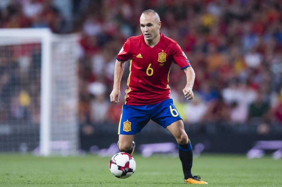 """Andrés Iniesta: """"Posiblemente el Mundial sea mi última aparición en la selección"""""""