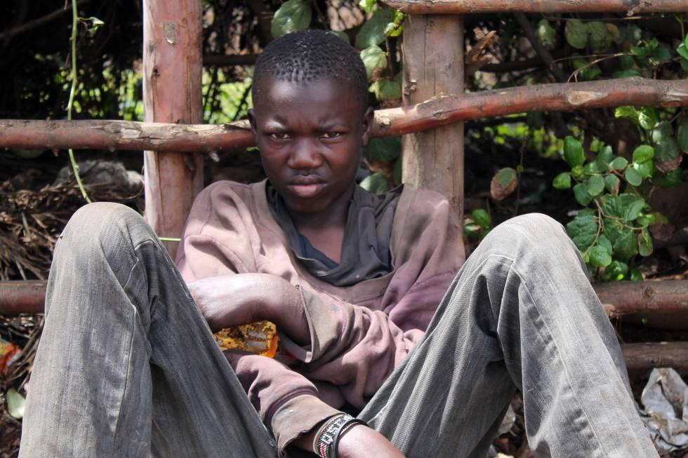 En lo que va de año una decena de chicos de la calle han fallecido de sobredosis en Eldoret.