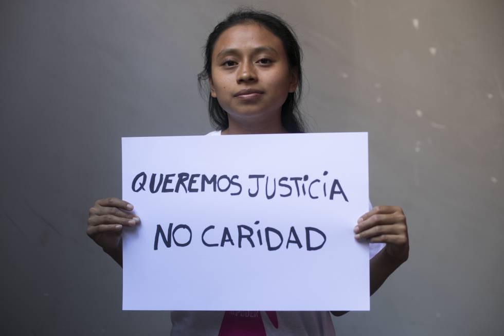 Esrefany, 20 años, de Guatemala.