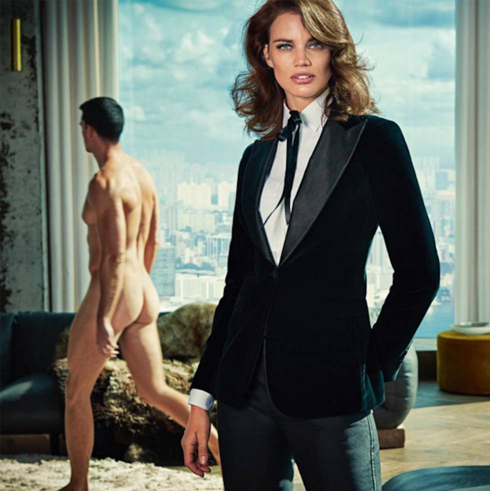 Hombres desnudos, mujeres vestidas: la campaña que acaba de dar la vuelta al machismo de la publicidad