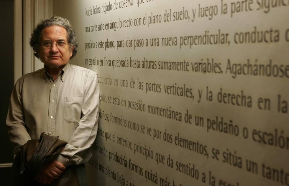 Ricardo Piglia, escritor argentino.