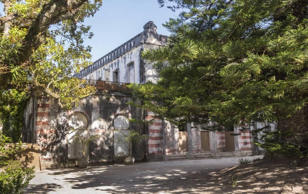 Fachada de la casa que se ha comprado Madonna en Lisboa.