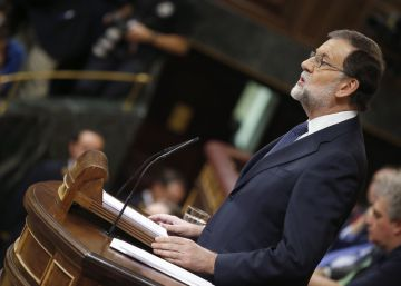 "Rajoy: ""To vote against democracy or outside of it is not democracy"""