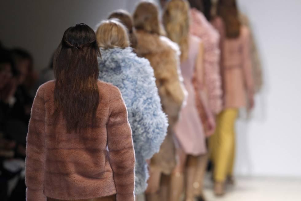 Pieles en la colección otoñoinvierno 2014-2015 de Gucci.