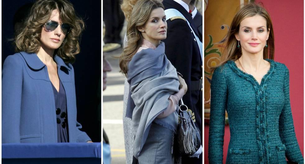 ba9c4d25f2 La evolución de la reina Letizia a través de la Fiesta Nacional ...