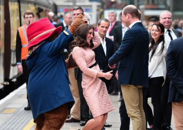 El baile sorpresa de Kate Middleton con el osito Paddington