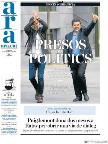 Image result for los jordis presos polítocos