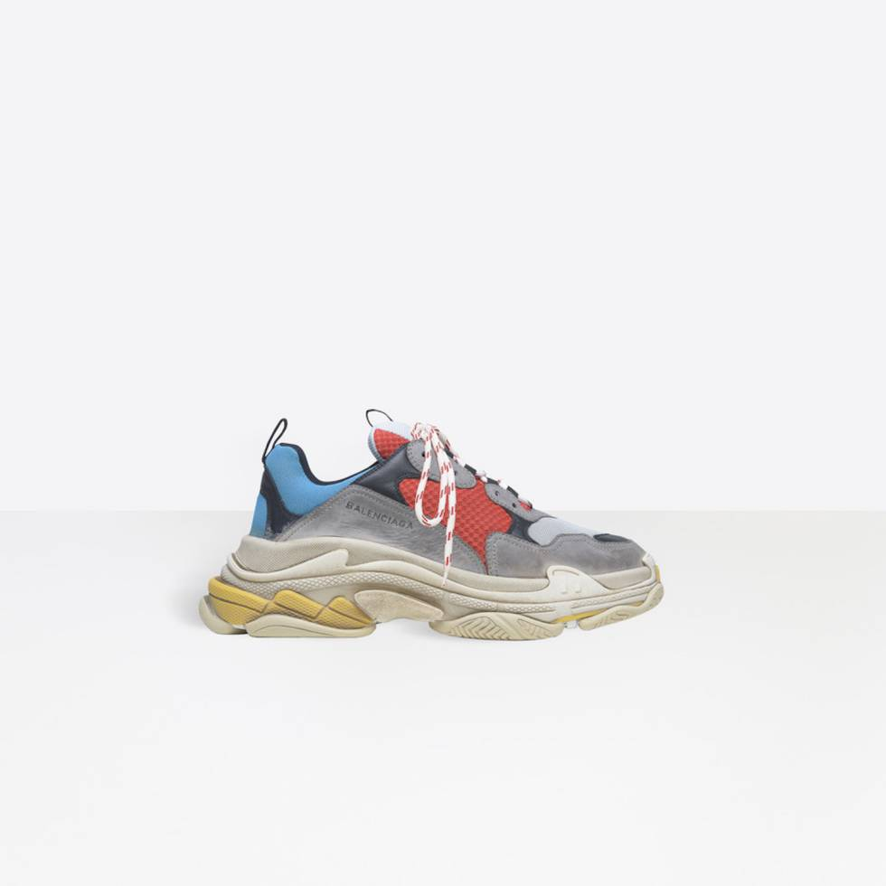 zapatillas triple S balenciaga