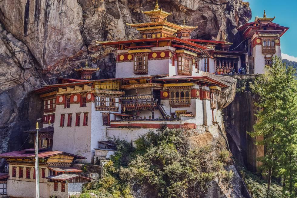 Nido del Tigre, en Bután