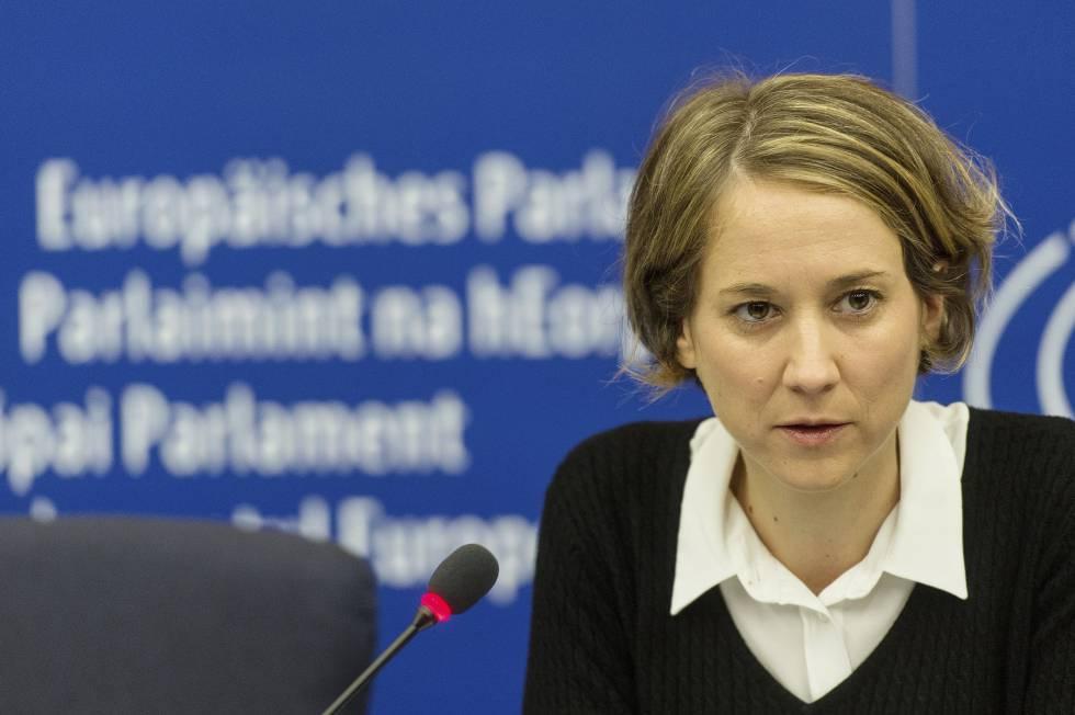 La portavoz de Izquierda Unida en el Parlamento Europeo, Marina Albiol,