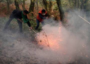 'Fall from hell' in Galicia as fires lay waste to region