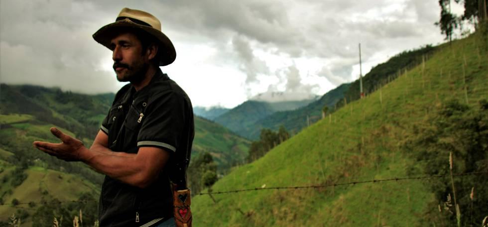 Ever Olivera, campesino de una vereda de Cajamarca, en principio estaba a favor de la mina de oro, pero se dio cuenta de que podía tener consecuencias negativas a largo plazo.