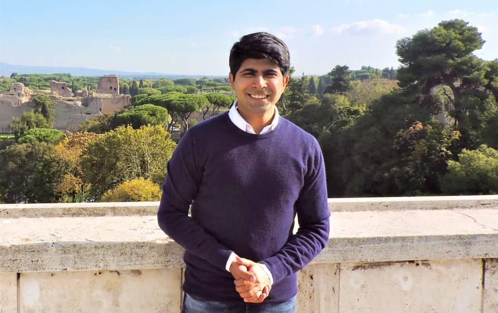 Ankit Kawatra, en Roma (Italia).