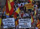 Hundreds of thousands take to streets in defense of Spanish unity