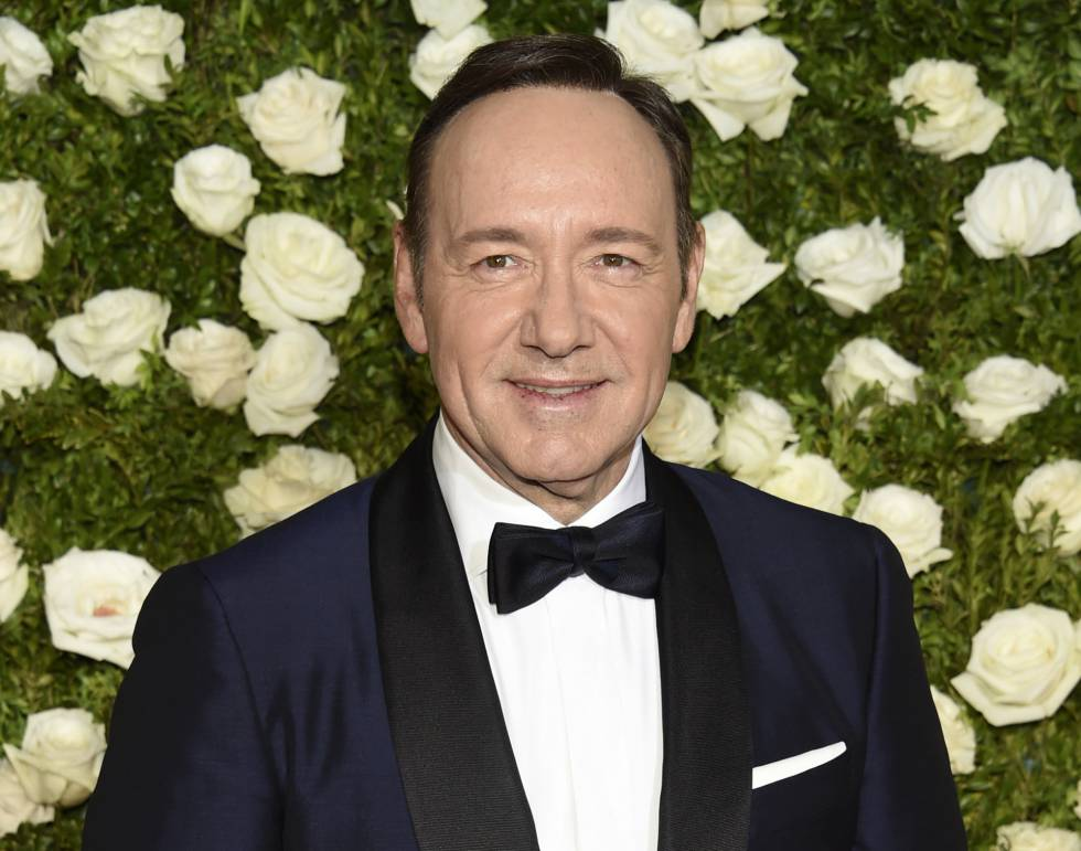 Kevin Spacey el pasado mes de junio, a su llegada a los premios Tony Awards en el Radio City Music Hall de New York.